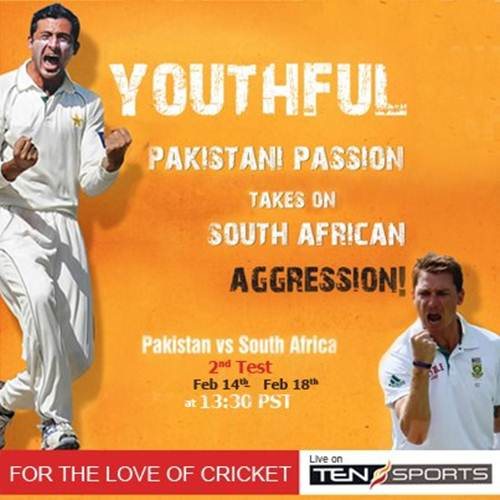 Pakistan South Africa 2nd Test Match