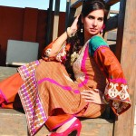 Spring Lawn Collection By Rujhan Fabrics