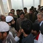 Shahbaz Sharif in Metro Bus service 3