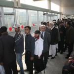 Shahbaz Sharif in Metro Bus service 4