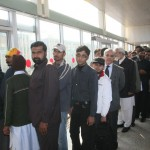Shahbaz Sharif in Que at Metro Bus Station 4