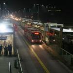 Shahbaz Sharif travel in Metrobus Lahore 4