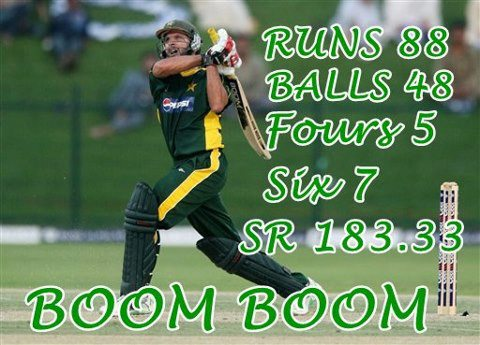 Afridi VS South Africa