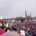 Aleem Khan PTI Address in Lahore Jalsa