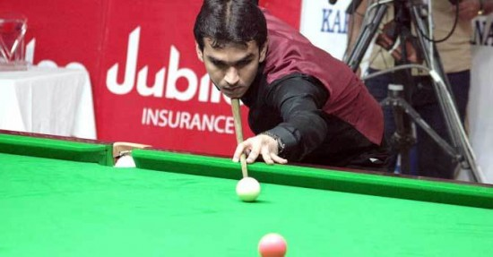 Hamza Akbar Snooker Champion