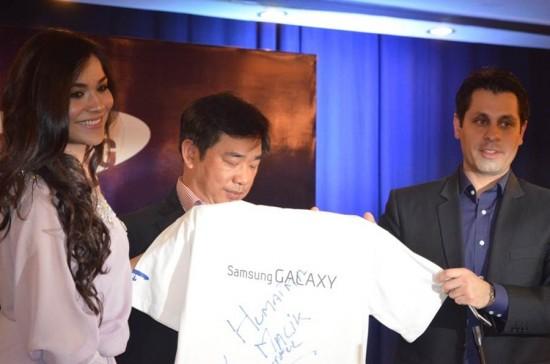 Humaima Malick Samsung Pakistan