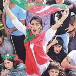 Imran Khan Lahore Jalsa's Attractive Scene