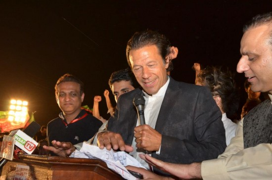 Imran Khan Lahore Speech 2013