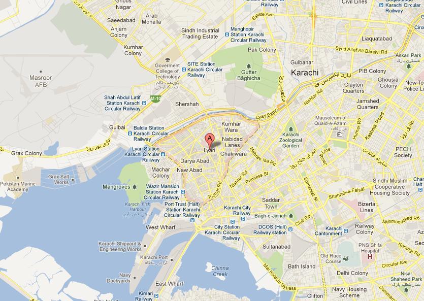 Karachi Lyari Chakiwara Mapchakiwara karachi