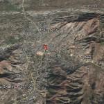 Mingora Swat Vally Satellite Map