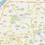NA 119 Lahore Area Street Map Detail - Gawalmandi, Old City, Badami Bagh, Shah Bagh, Misri Shah, Minar i Pakistan