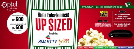PTCL Smart TV Jadoo Plus