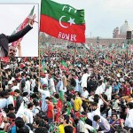 Imran Khan addressing Jalsa in Lahore on 23-3-2013