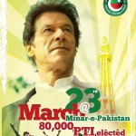 PTI March 23 Jalsa At Minar-e-Pakistan 2013 Preview