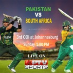 Pakistan VS South Africa 3rd ODI Match Preview