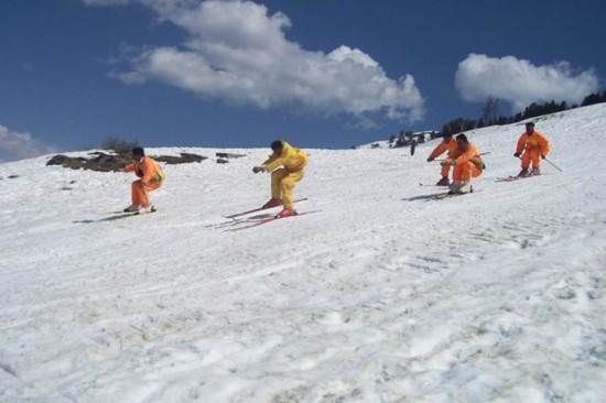 Peace Skiing Malam Jabba