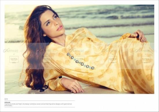 Sania Maskatiya Lawn Dress 1