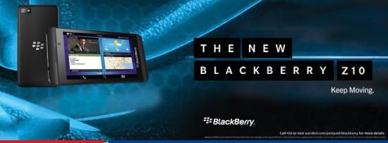 Warid BlackBerry Z10