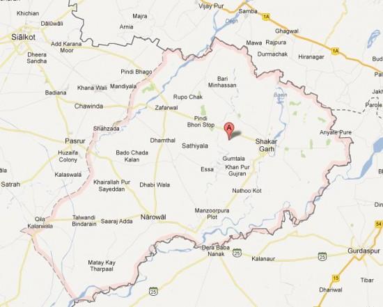Detail Map District Narowal