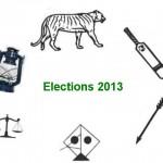 Election Symbols 2013