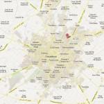 Faisalabad City Detail Road Map