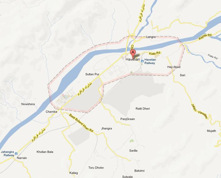 Geographical location of Havelian