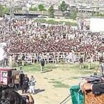 Imran Khan (PTI) Jalsa in Mingora Swat