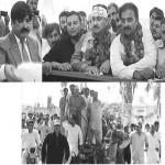 Jamshaid Dasti on Gadha Raihri in Muzaffar Garh  for submitting nomination papers for NA-177 and 178
