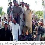 Jamshed Dasti on Donkey Cart (Gadha Garhi)