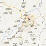 Lahore District Detail Map