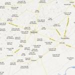 Map Tehsil Samundari District Faisalabad - NA 79