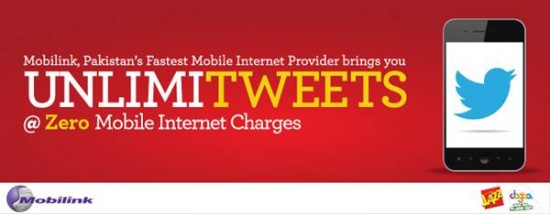 Mobilink Free Twitter