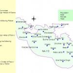 NA-113 Sialkot Constituency Map - Daska, Kalass Wala, Rasool Pur, Qila Sobha Singh, Bhopalwala, Sambrial