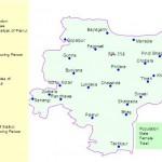 NA-114 Sialkot Constituency Map - Pasrur, Chawinda, Ban Bajwa, Kul Bajwa