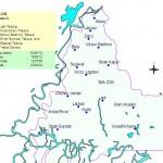 NA-238 Thatta Constituency Map - Jati, Shah Bundar, Sijawal, Kharochan, Daro, Mirpur Bathoro, Bela, Mian Hussain