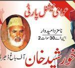 NA 30 Swat ANP Candidate Khurshed Khan