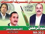 NA 30 Swat PTI Candidate Saleem-ul-Rehman