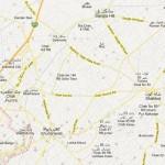 NA 75 Faisalabad Street Map - Chak Jhumra, Salar Wala, Sahian Wala, Khurianwala