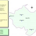 NA-76 Faisalabad Constituency Map - Jaranwala