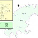 NA-81 Faisalabad Constituency Map - Pensaira