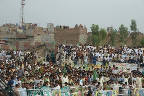 PMLN Jaranwala Jalsa a corner view