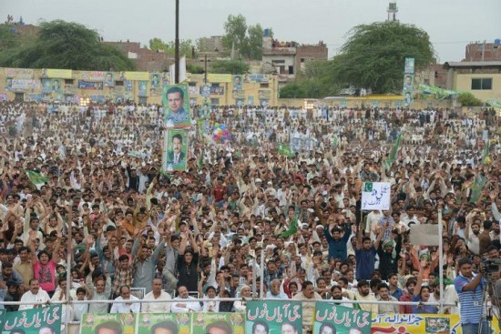 Jaranwala Jalsa a jam packed view