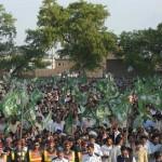 Nawaz Sharif (PMLN) Jalsa in Layyah 9