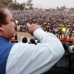 Nawaz Sharif PMLN addressing huge Jalsa in Yazman city district Bahawalpur (April 25, 2013)