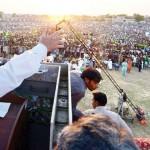 Nawaz Sharif address in Hafiz Abad Election Rally