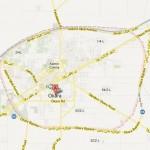Okara City Map