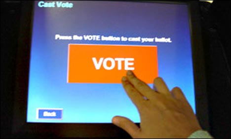 Online Voting Electronic Machine