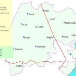 PK-65 D.I. Khan Constituency Map - Budani, Thoya, Mandra