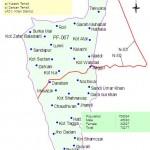 PK-67 D.I. Khan Constituency Map - Kulachi, Darban, Kot Isa, Buzdar, Zarkani