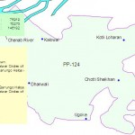 PP-124 Sialkot Constituency Map